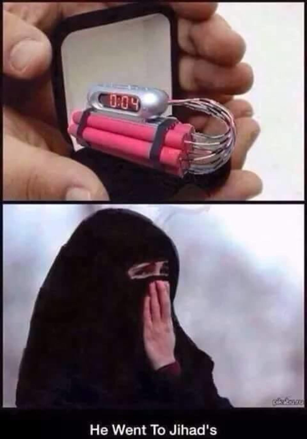 Till death do us part. join list: HumerusStuff (227 subs)Mention Clicks: 10118Msgs Sent: 49954Mention History. He Went To Jihad' s. That's a nice homemade engagement ring, Ahmed.