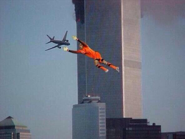 Tim Howard. Too soon?.. so are you implying belgium was responsible for 9/11? now there's a new conspiracy theory. I always thought the did it