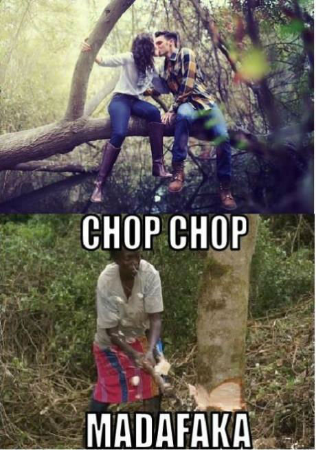 Timber!. And down go the Swag Fags.