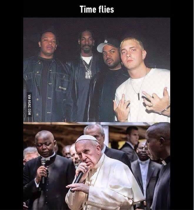 time flies. .