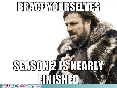 Time is Ticking. . rff, lff] afull' , ili! lall! ll 'is Ill % I ran.. So..... any one looking forward to GoT season two?