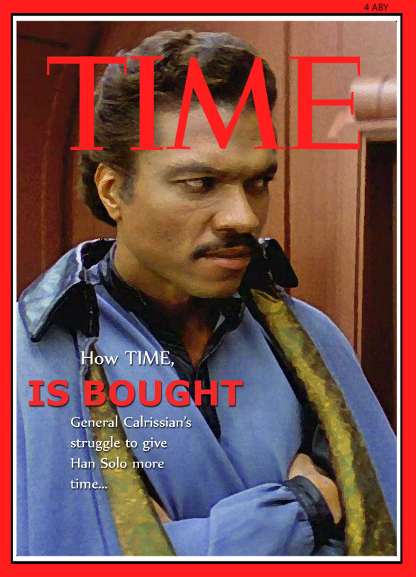 TIME magazine buys some time with Lando.. Made this forever ago, but was too lazy to make a funny junk account. This just isn't funny unless you've played Star