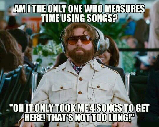 Time Measurement System. . I Elul , TIT. no. me too, where one song is in the range of 3 to 5 minutes. you can get exact measure with many different songs, though
