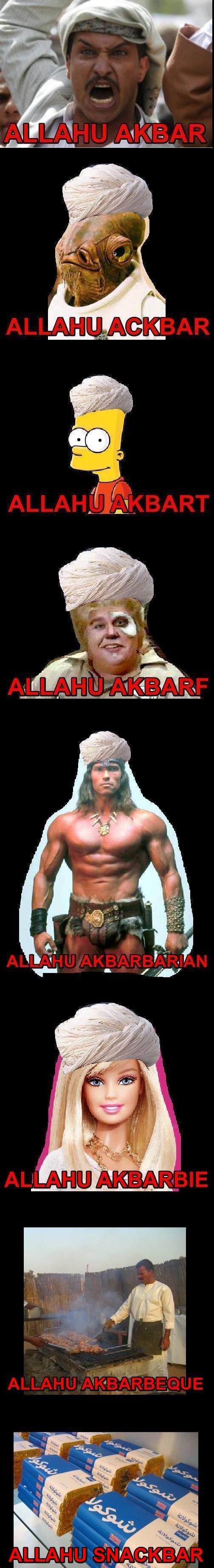 Time to with Syrianassassin. hes one mental little religious fanatic....and heres something to tease him no offence to allah....just teasing for Syrianassassin.