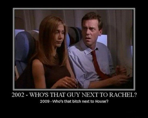 "Time. . 2002 - WI ISIS TI IAT GUY "" TC) RACI IEL? 2009 - ohmes that bitch next to Hou Se'?. Who's that sitting next to Leiutenant George?!!?!"