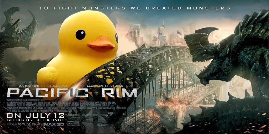 titanic yellow Duck. .. Golden Title
