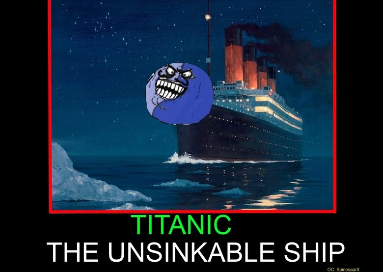 Titanic, you so silly.. I don't have anything to say about this...... WELL THEN. I guess I'll just say I have another comic coming up by the end of the day.. DE
