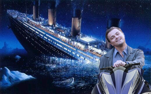 Titanic's alternate ending. With 37 hours of bonus footage!.