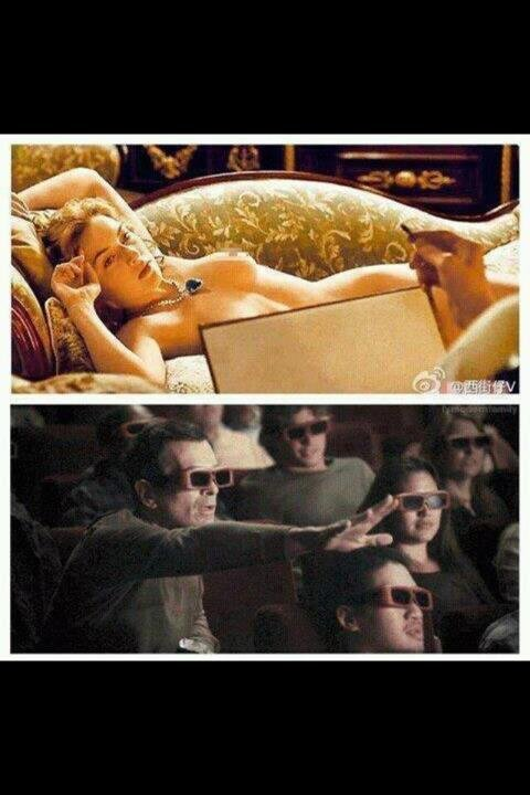 titanic(read desc). i know its a repost but i just cant get over this picture its too damn funny!.
