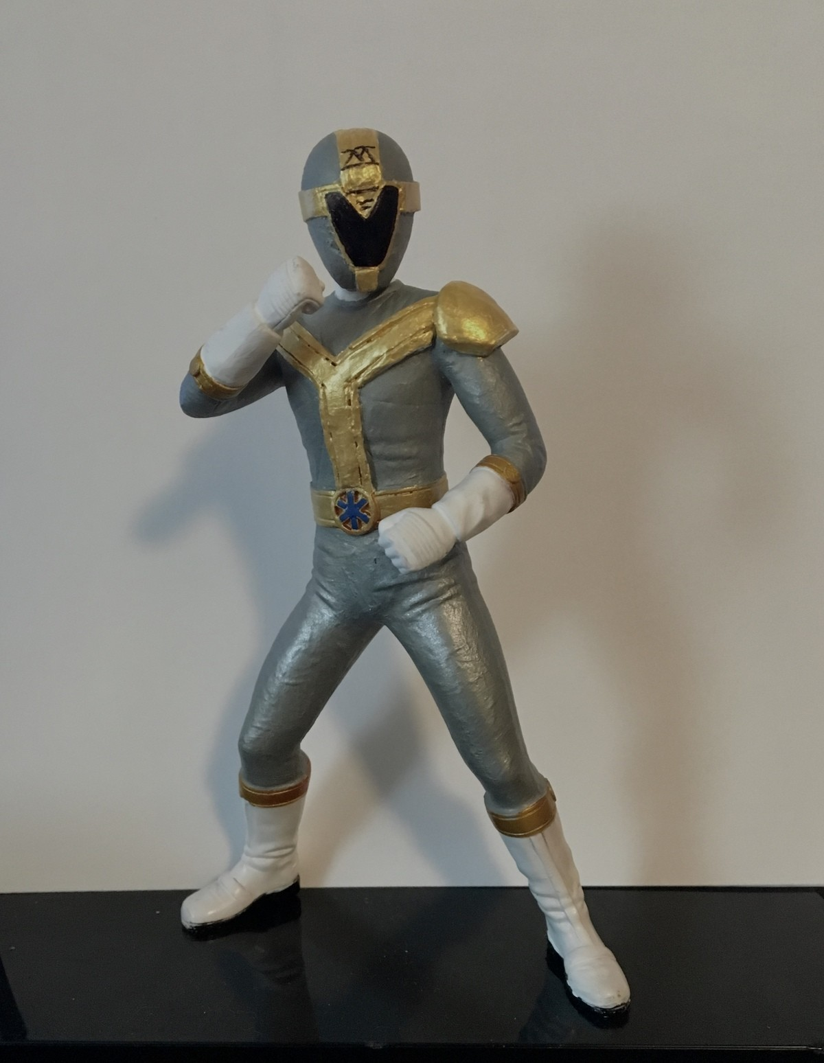 Titanium Ranger. Finished up my titanium ranger figure! It turned out great! So happy with the final result. Now Hasbro needs to make a titanium ranger for the