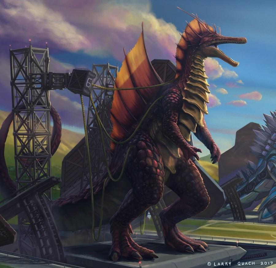 Titanosaur. .