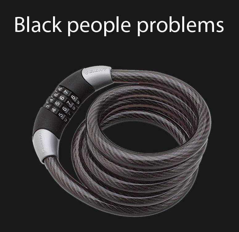 Title. Description. Black people problems