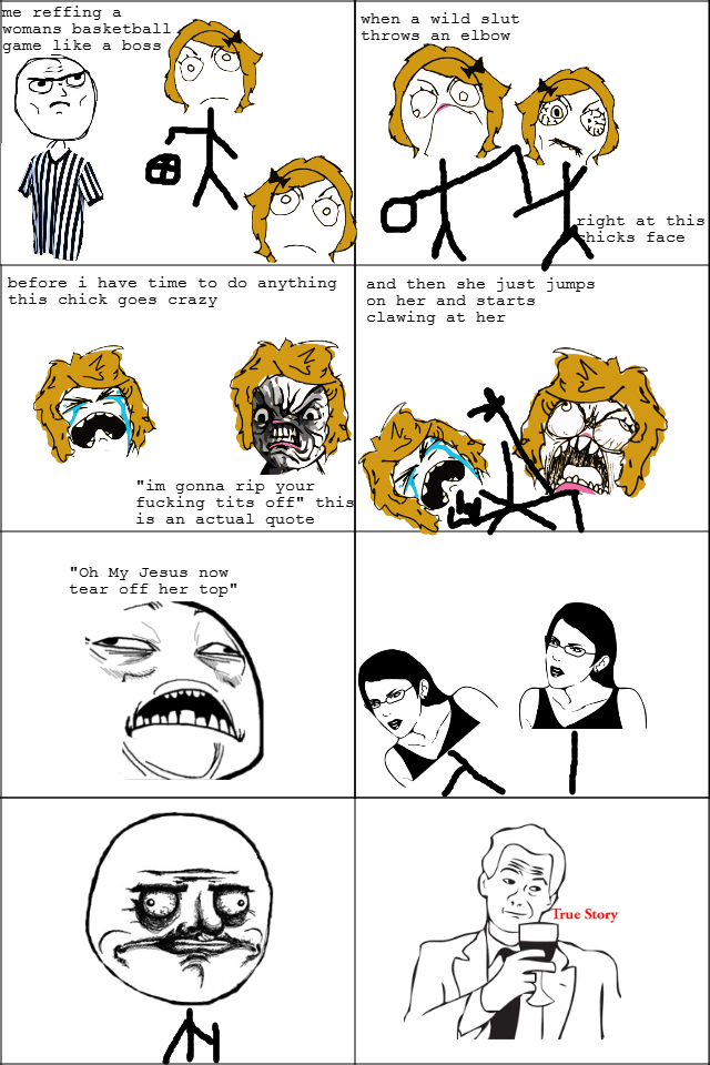 title. description. us raffing a ksmans basketball game like, a bass wasn a wild slut throws an ight at this icks face l have tims to do anything and then she j