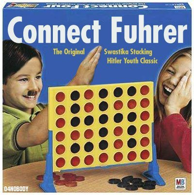 Title. Inb4 stupid nazi jokes we've all heard before.. Connect '. someone sucks at photoshop