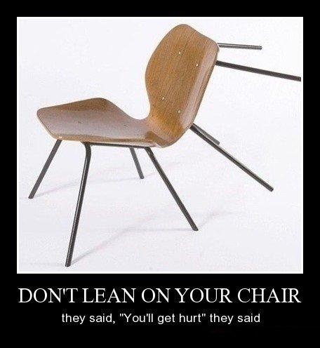 title. you lost the tags. LEGAN (EN CHAIR Midroll get they -: 1
