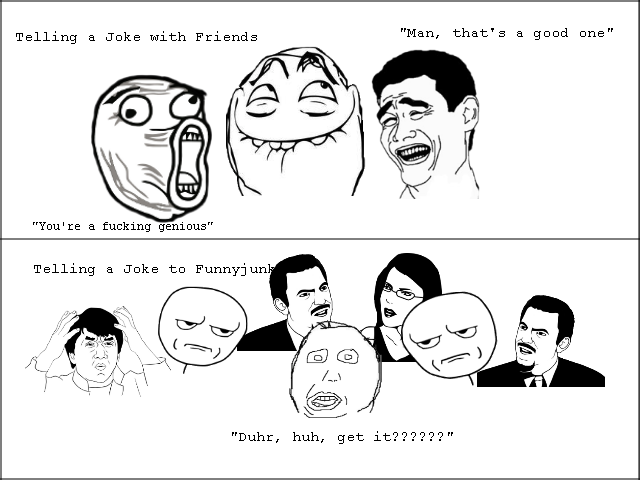 "Title. . Telling a Joke with Friends ""Man, ehar' s a gaad Una"""