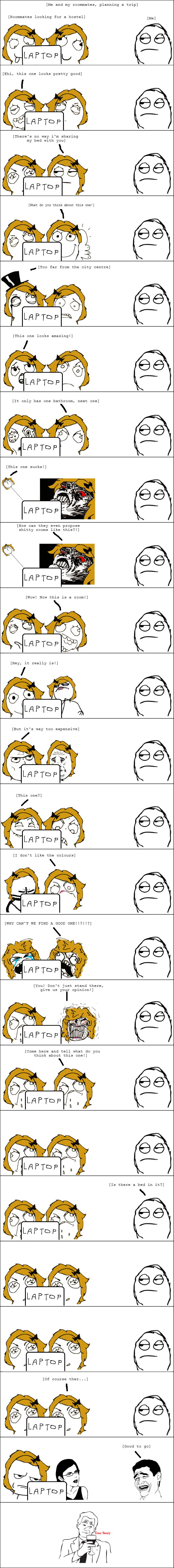 Title. My first rage comic, be gentle.