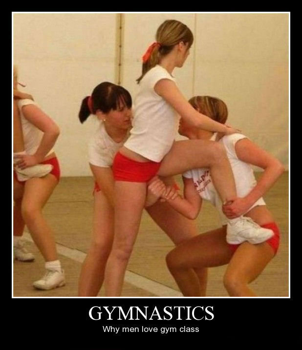 Title. . Why men have gym class