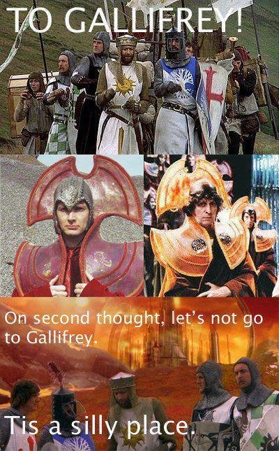 To Gallifrey!. .