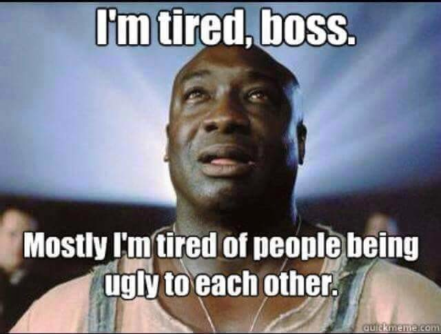 To much of this going around. .. Rip michael clarke duncan