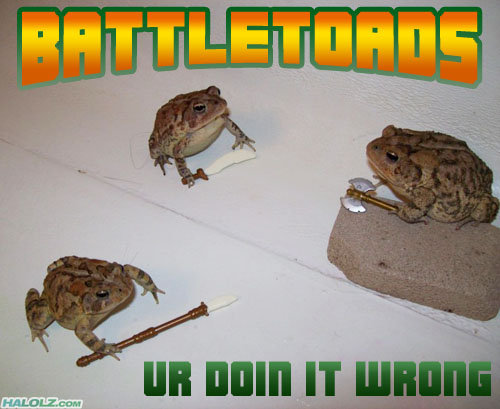"Toads Do It Wrong. I don't care if your doing it wrong, i want one NOW!!<br /> all credit goes to<br /> <a href="" target=_blank>www.halol"