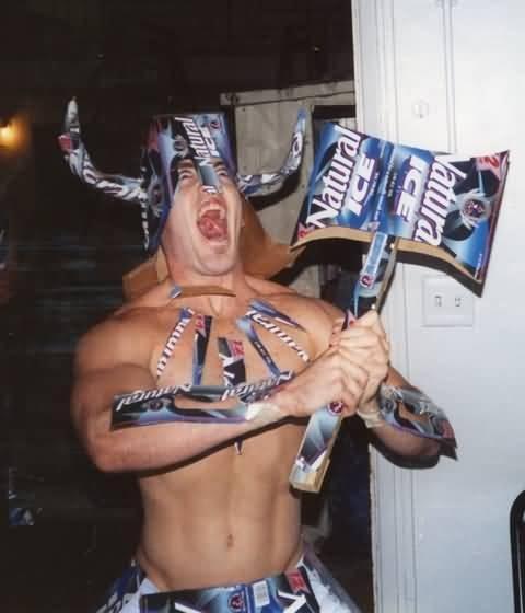"""TO VALHALLA!. """"drunk wars"""".. My douche bag detector just blew up"""