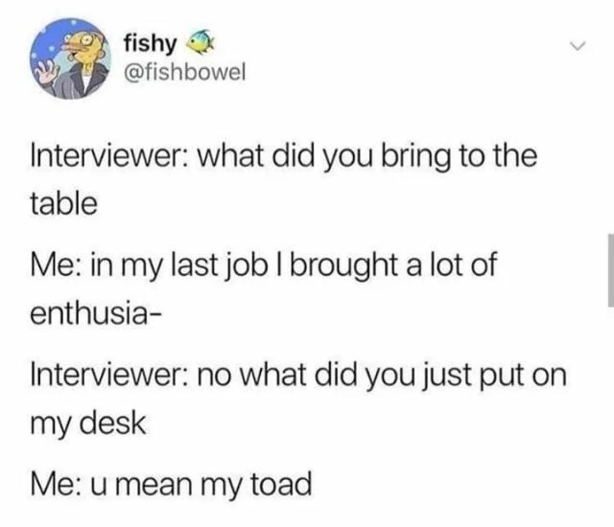 toads. .