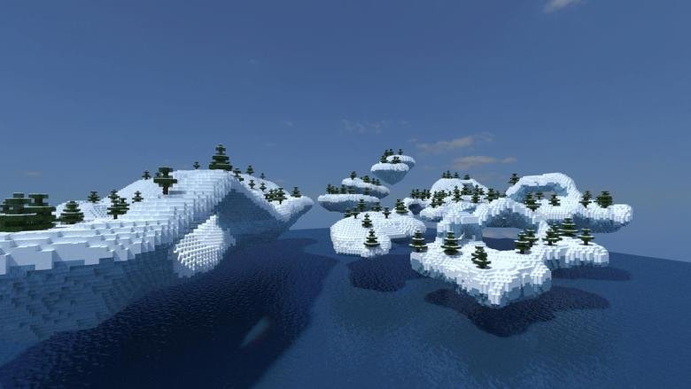 Today I added this biome to my server!. Entire map is custom made by me! 7600x3200 map! IP: mc.stashcraft.com.. Anyone else think of Code Lyoko?