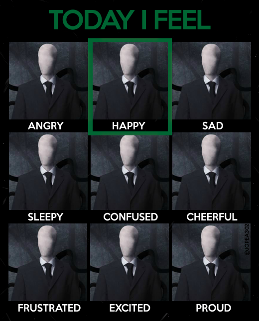 Today i feel. . SLEEPY Irt FRUSTRATED CONFUSED EXCITED CHEERFUL PROUD
