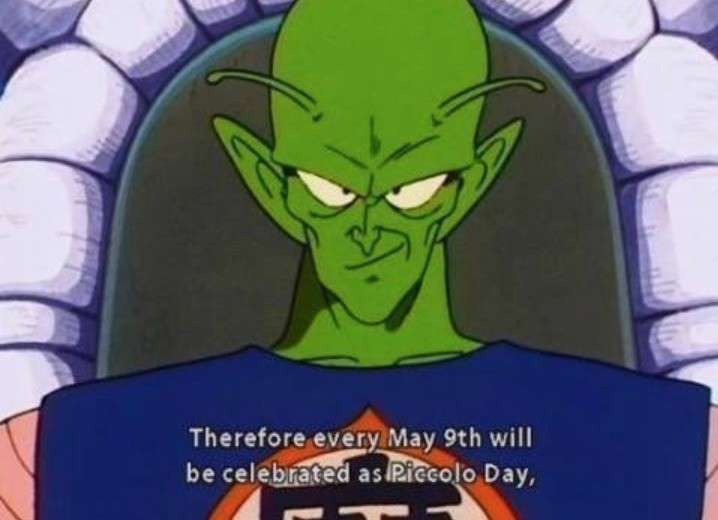 Today is a good day. .. Today is also my 18th birthday, and officially Goku day.