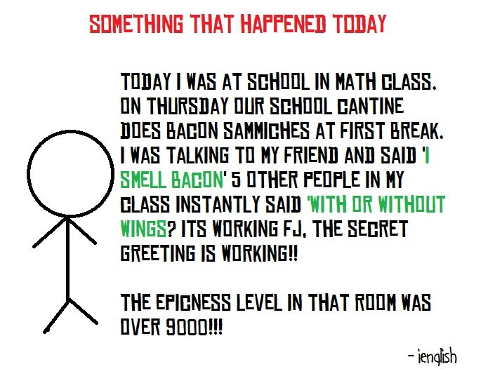 Today In Math Class. Its a true story!. THAT HAPPENED T LASS. M THURSDAY EUR ( L' ANTONE DUES HAHN ( AT FIRST MEM. I HAS TALKING Tle
