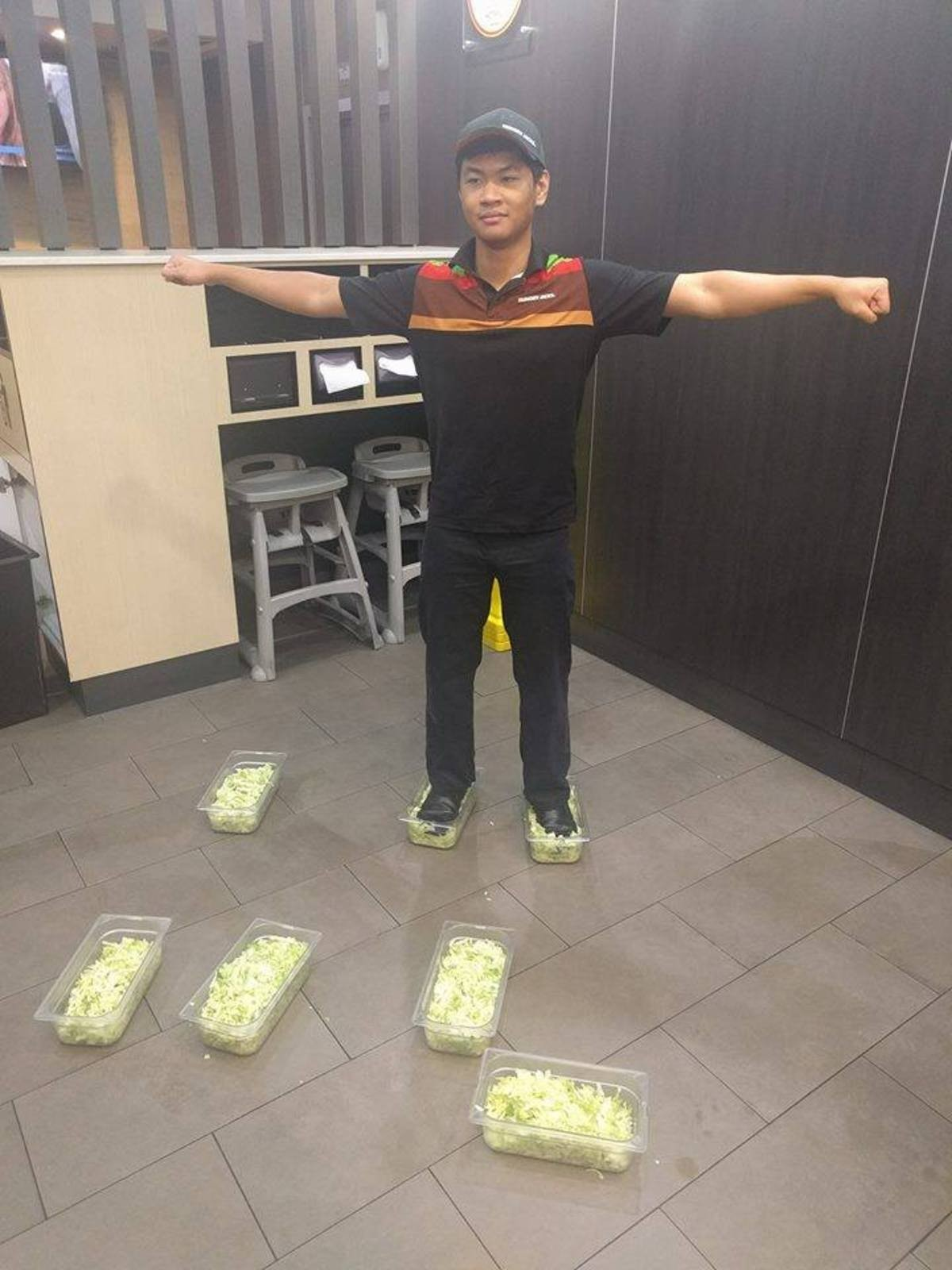 too powerful to be stopped. .. Didn't the original foot lettuce guy get fired? Also - loss paddle please.