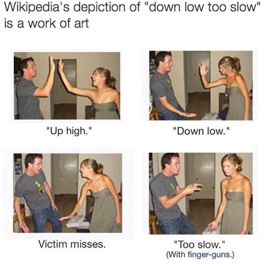 Too Slow. .