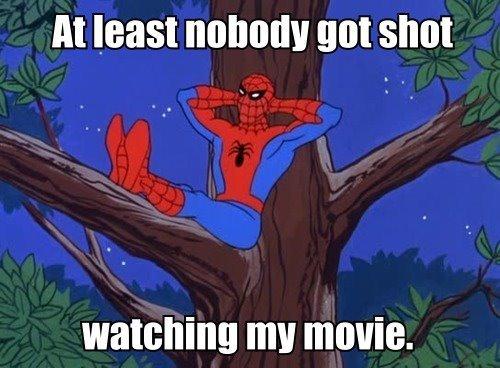 Too Soon?. . ht least nobody gunshot watching III! .. Except my uncle