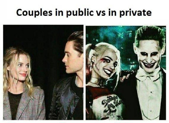 Too true. . Couples I'? public f'? private