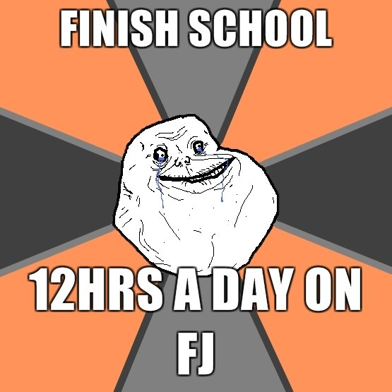 too truu. made by meeee. FINISH (. You're never alone on FJ.