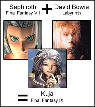 Too true! x3. I found this on StumbleUpon. There are actually a lot of look-a-likes for David Bowie. He's pretty crazy, I guess.... Sephiroth David Bowie Final