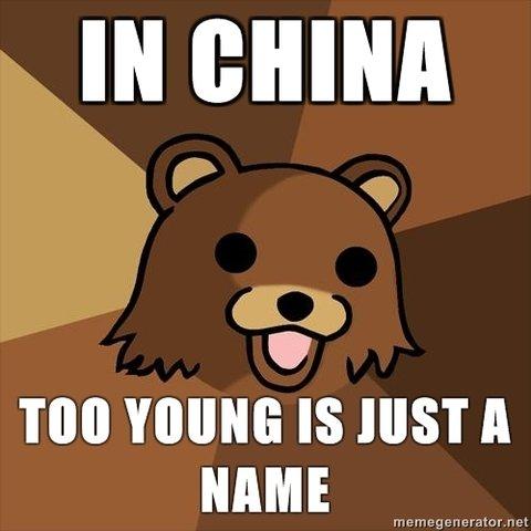 Too Young. . YOUNG IS HIST A NAME. hehehehehehe