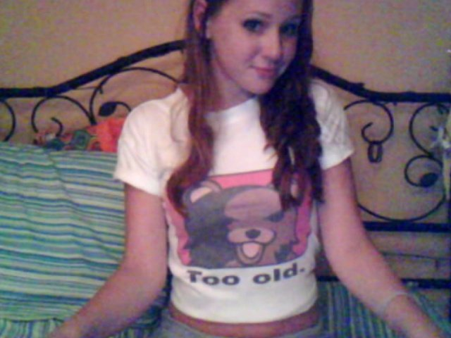 too old?. never too old!<br /> dont forget to thumb if you likey. more on my profile.. damn...she's...what? 14?...pedobear definitely stops at 12