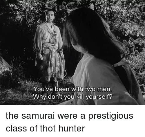 """torpid psychotic Parrot. .. They were boy diddlers also. """"Despite the animosity, nanshoku continued, specifically the samurai version of nanshoku, and it became the dominant expressio"""