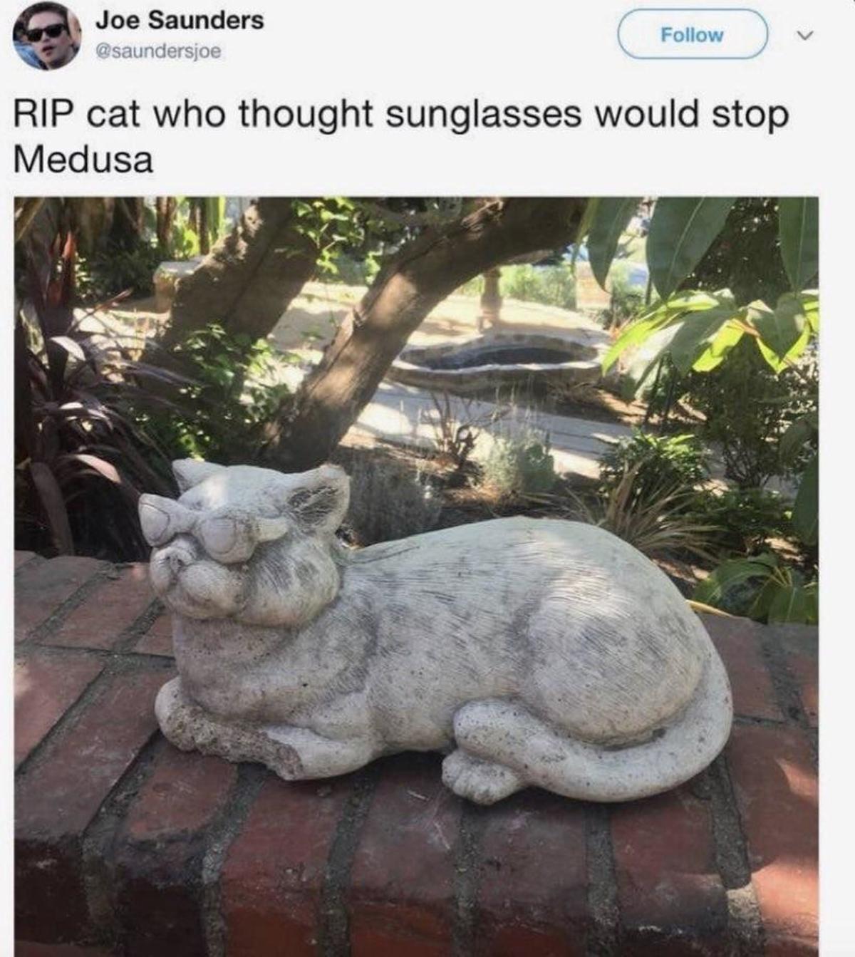 tougher prewar retarded Sandpiper. .. Cat statues are tight
