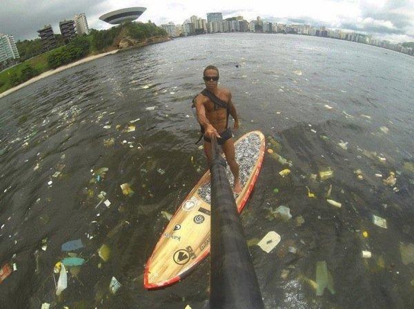 Trash. Rio de Janeiro.. Just because he has another skin color, you dont call him trash man.