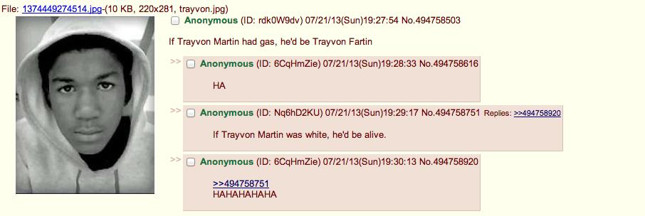 Trayvon Fartin. . If Travyon Martin had gas, he' d be Travyon Farm If Trayvon Martin was white, he' d be alive.