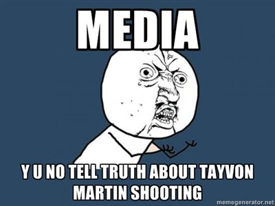 Trayvon Martin Shooting. First time fox news has told the truth in a long time.. Y Ill M mi: TRUTH '