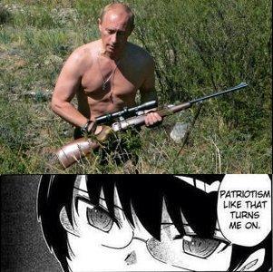 Treason like that turns me off.. .. shirtless old man with a firearm what a patriot :,)