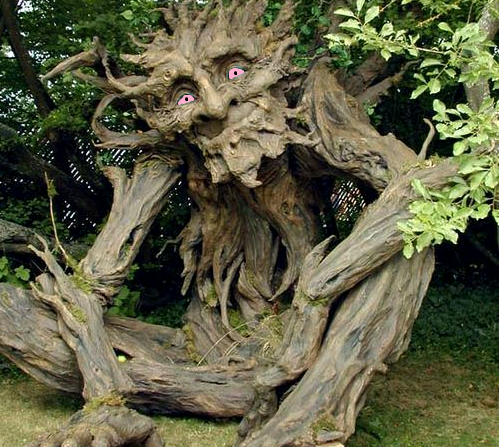 Treebeard in his college days. .. <---this is who i thought of
