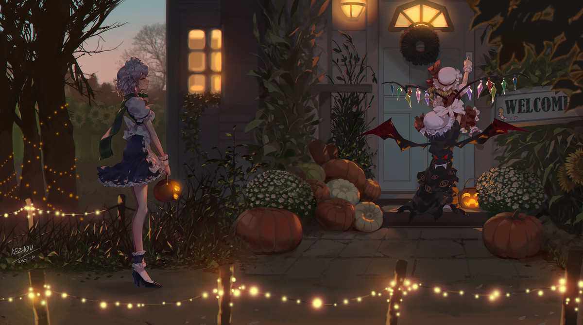 Trick or Treat. .. One can control fate and other can destroy anything. Better hope you have some good candy reserved.