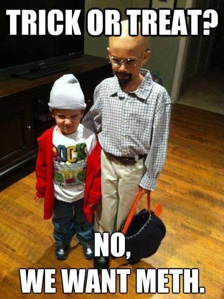 TRICK OR TREAT!. not mine. found it to be hilarious so i had to post it.. THIGH. I think kid with glasses is the one who knocks