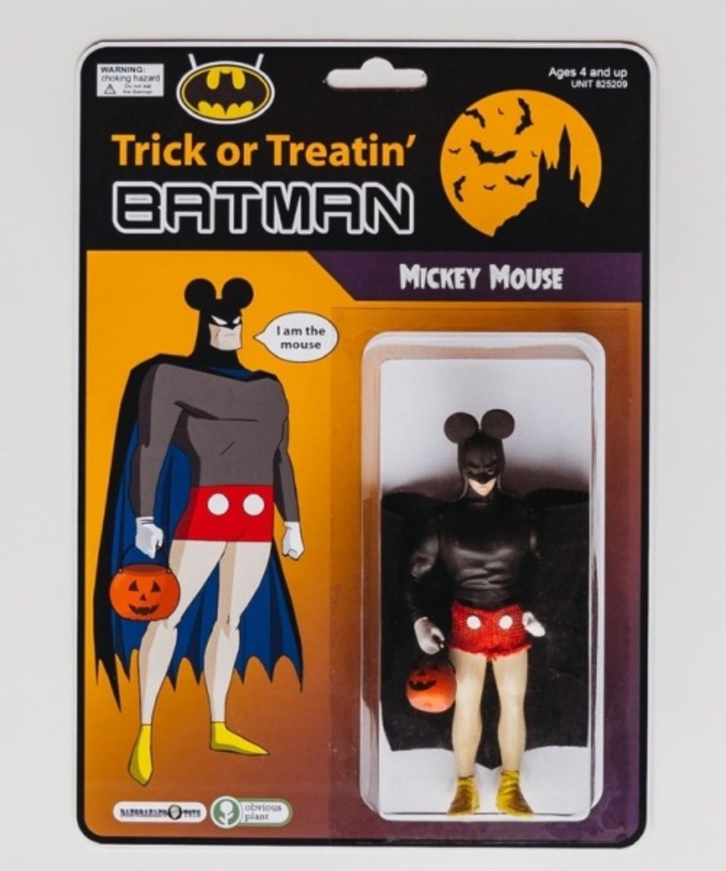 Trick or Treatin' Batman. .