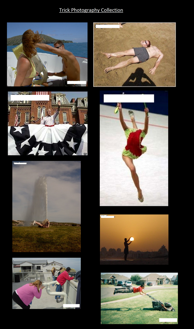 Trick Photography Collection. Check out more compilations on my page xD.